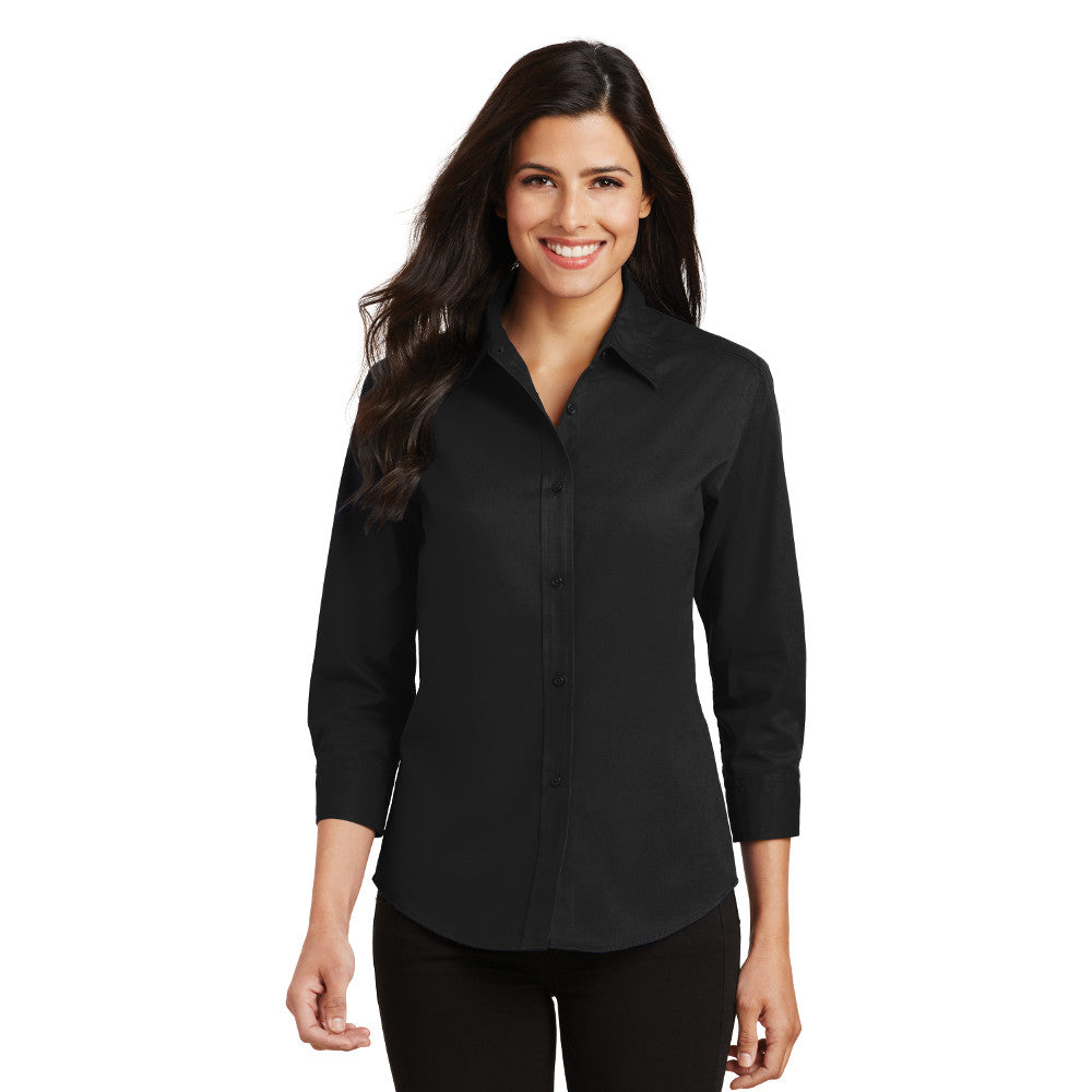 Ladies ¾-Sleeve Easy Care Shirt