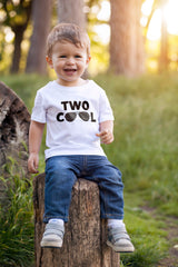 2nd Birthday Boy T Shirt - Two Cool (Shades)