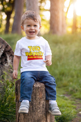 2nd Birthday Boy T Shirt - Two Infinity and Beyond