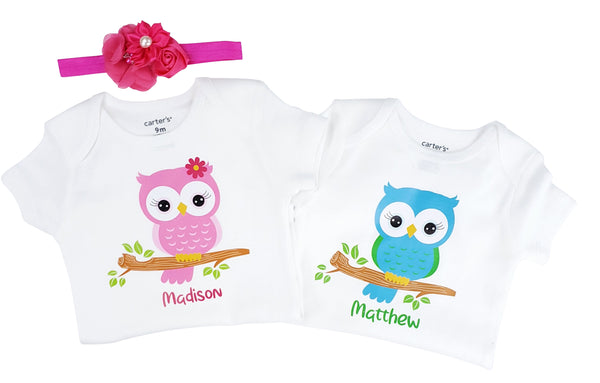 Twin Set - Baby Owls