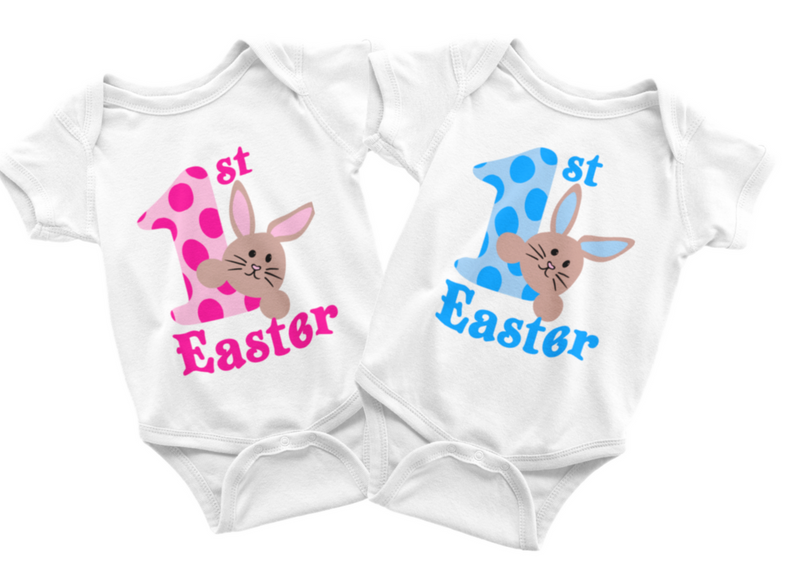 Easter Twin Set - My 1st Easter Pink & Blue