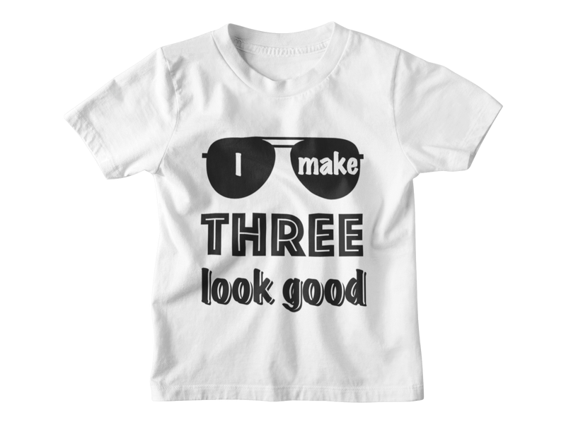 3rd Birthday Boy T-Shirt - I Make Three Look Good