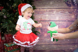 My First Christmas Tutu Set - Santa