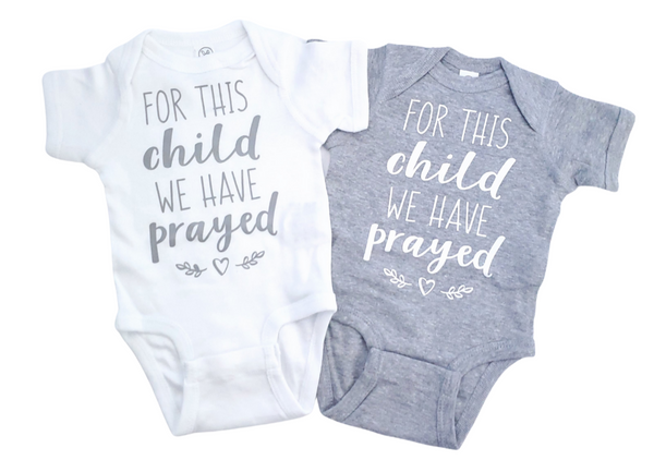 Twin Set - For This Child We Have Prayed
