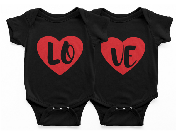 Twin Set - Valentine's LOVE Shirt set