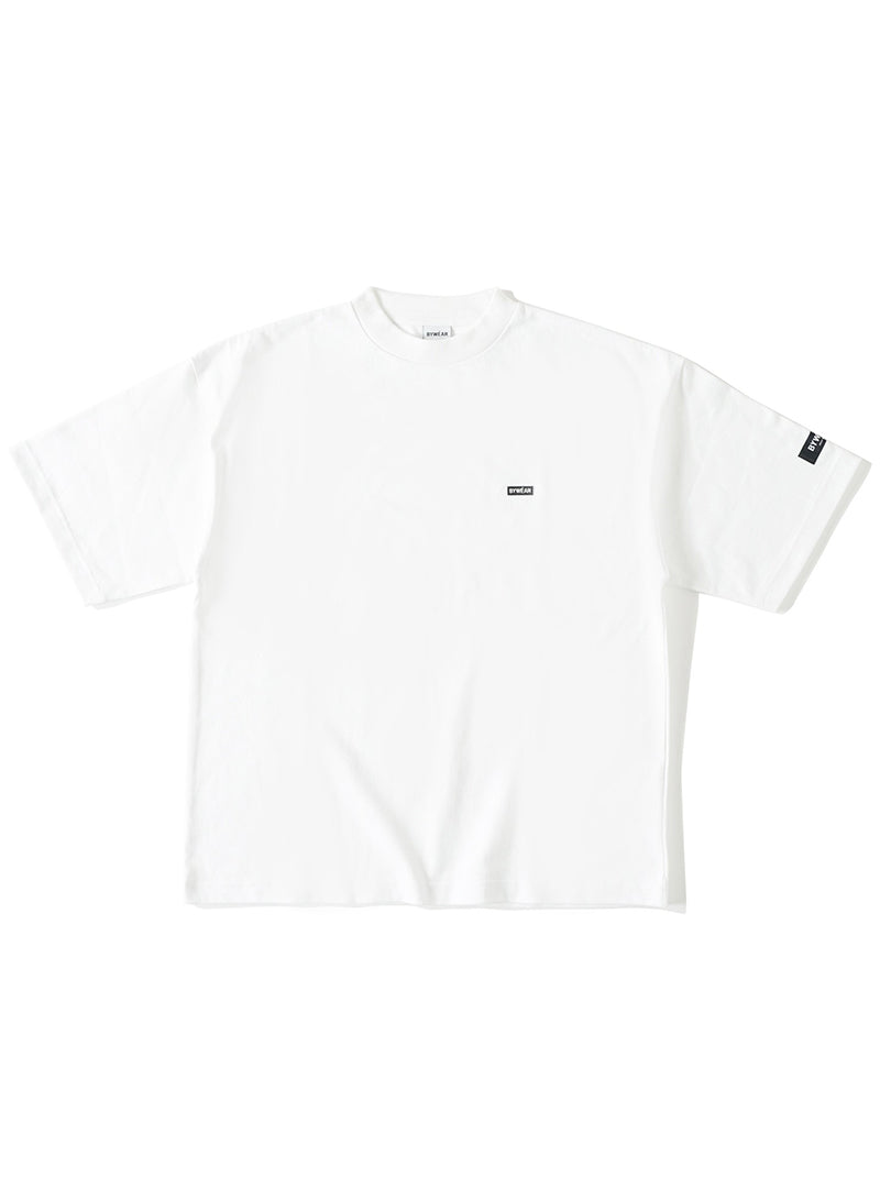 【BYWÉAR】Embroidery Patch T-Shirt