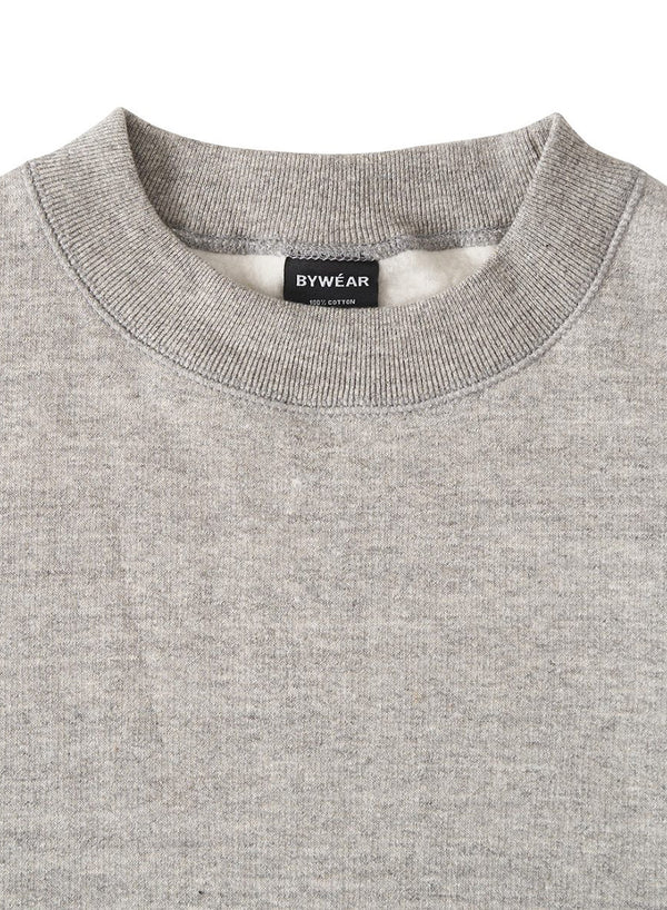 BYWÉAR Regular Plain Crewneck