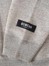 【BYWÉAR】Regular Plain Crewneck