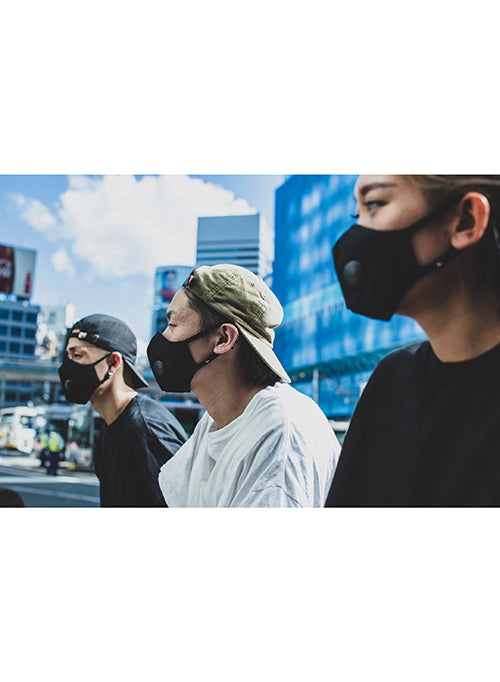 【AIRINUM】Urban Air Mask 2.0 - Onyx Black