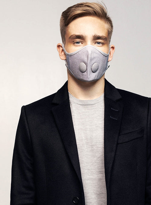 【AIRINUM】Urban Air Mask 2.0 - Quartz Grey