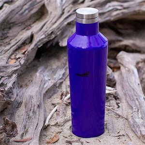 Purple water bottle 16oz | Costa rica surf hotel | Surf hotel shop | The Gilded Iguana online store | Nosara gear| Beach life style
