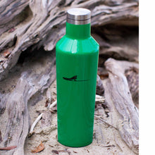 Load image into Gallery viewer, Green water bottle 16oz | Costa rica surf hotel | Surf hotel shop | The Gilded Iguana online store | Nosara gear| Beach lifestyle