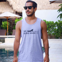 Load image into Gallery viewer, Grey men's tank top | Costa rica surf hotel surf hotel shop | The Gilded Iguana online store | Nosara gear