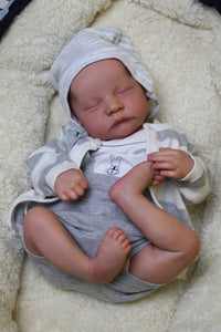 [Special Discount]17'' REAL LIFELIKE JOURNEY REBORN BABY DOLL