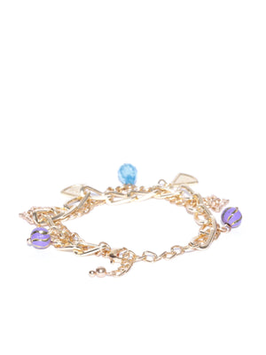Blueberry gold plated chain bracelets