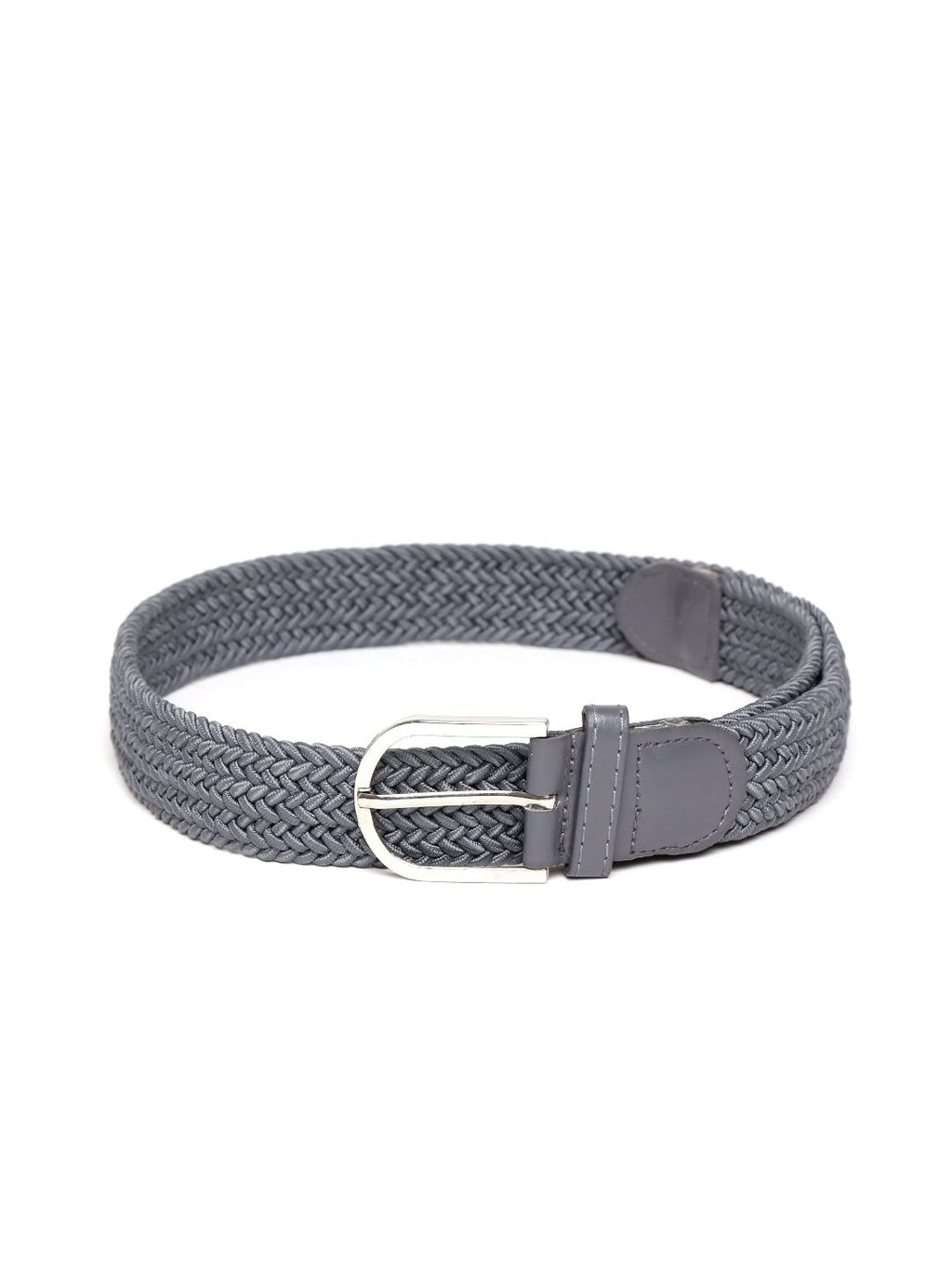 Lazy panda men grey webbed belt