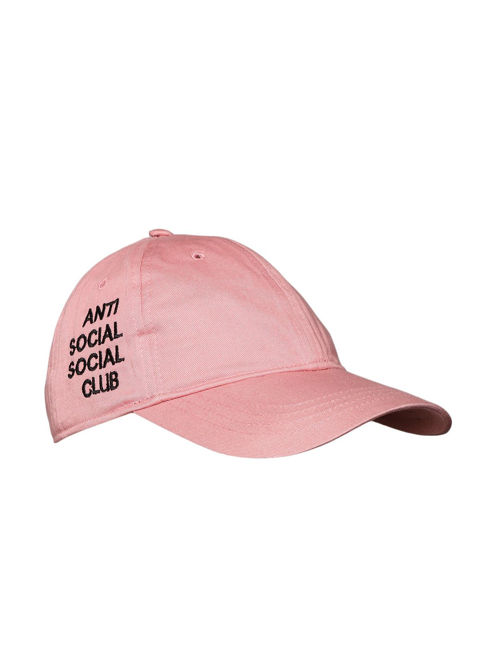 Lazy panda pink color anti social club embroidery cap