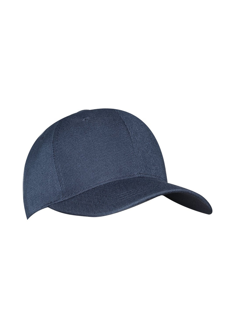 Lazy panda blue colour solid baseball cap