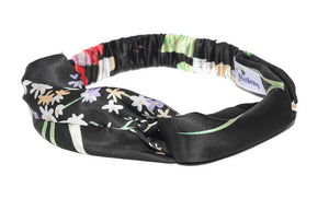 Blueberry multi color floral printed hair band