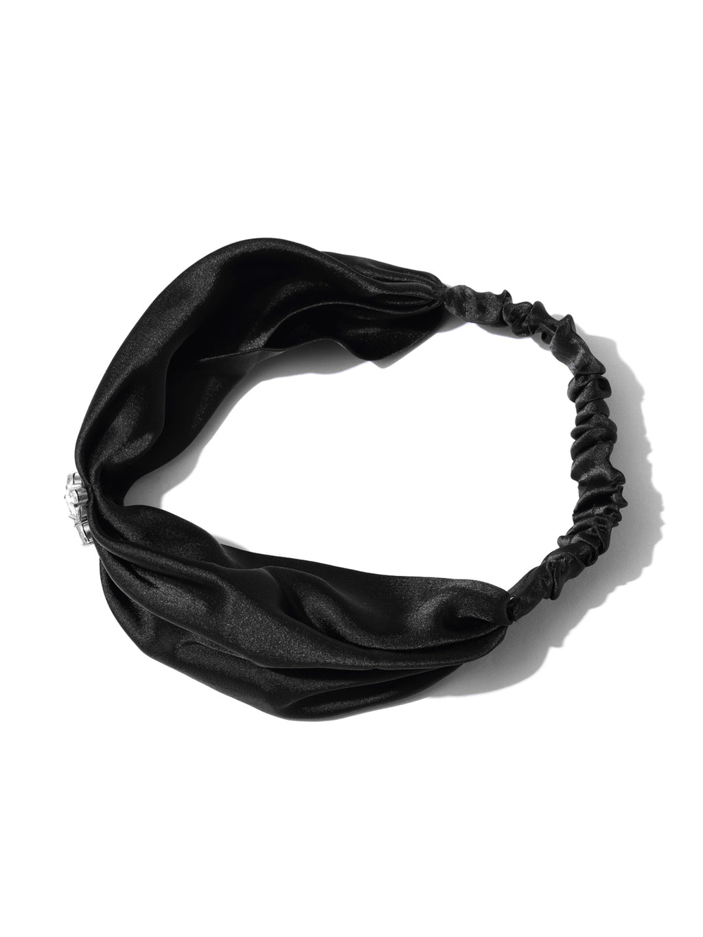 Blueberry black color stone detailing hair band