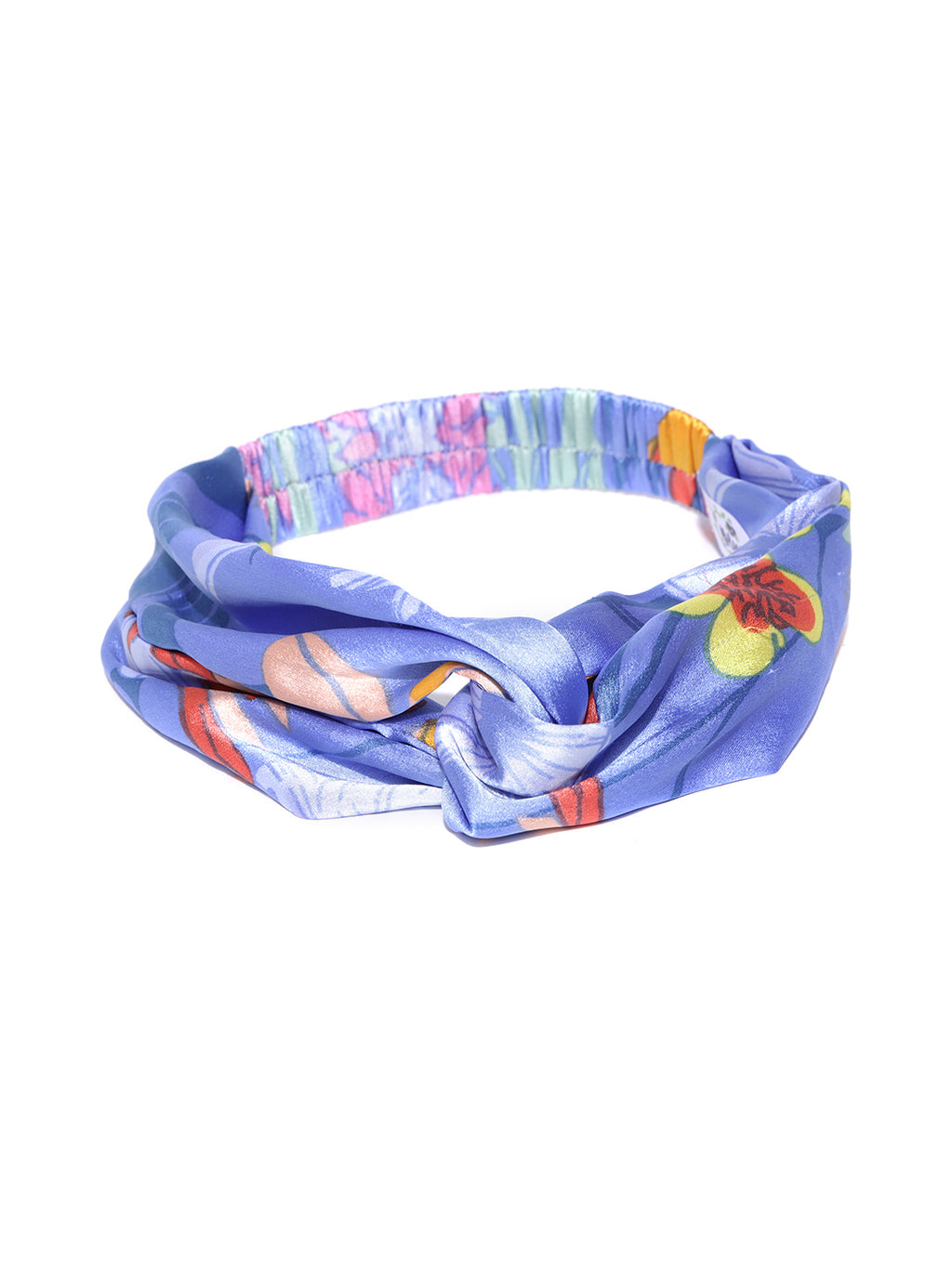 Blueberry Multi colour printed bow knot detailing  hair band