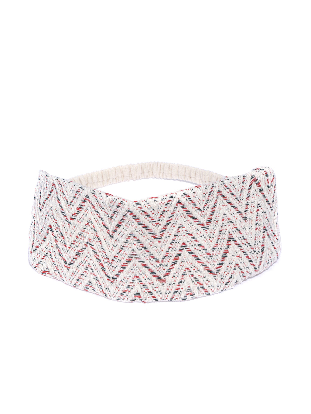 Blueberry grey woven design hairband