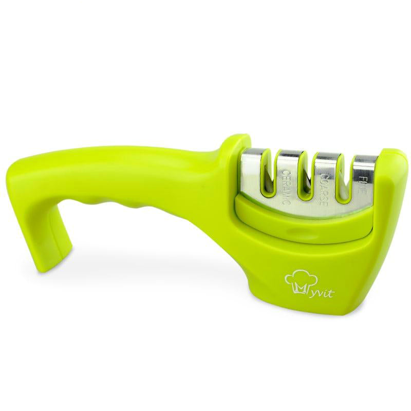 Lizzius 3-in-1 Knife Sharpener