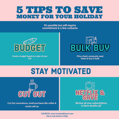 5 Tips to save for your next holiday