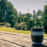 Bamboo travel coffee cup