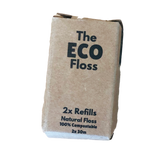 Compostable Dental Floss refill in cardboard