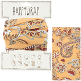 Hair, neck, wrist or head to a face mask wrap paisley