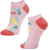 Bamboo Yoga & Pilates Ladies' Socks jellybean on pink