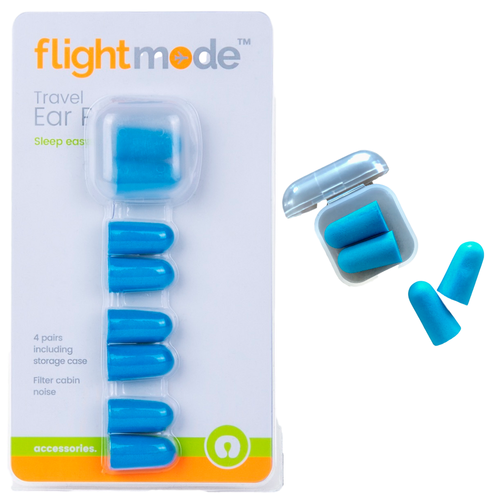 Ear Plugs blue with hygienic case