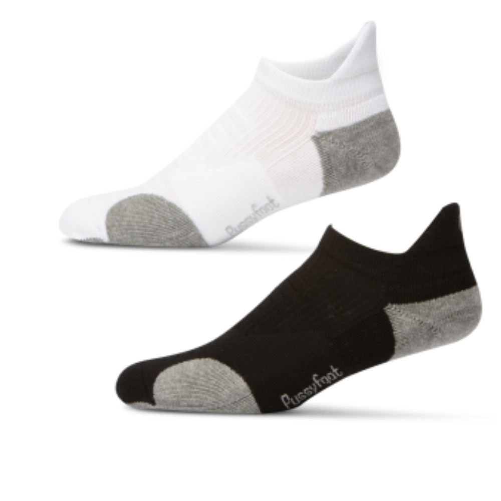 Bamboo X-Trainer socks black and white