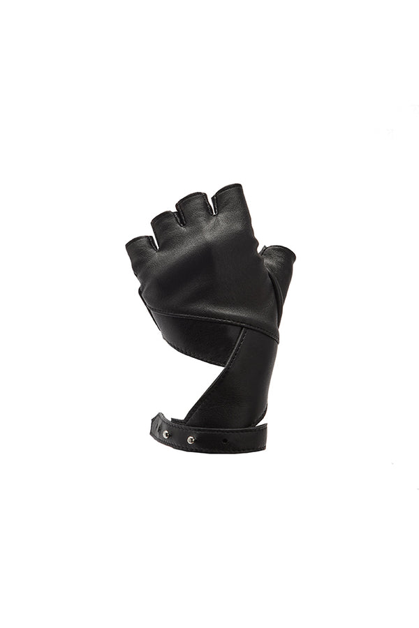 'ELEMENT' FINGERLESS GLOVES - PITCH BLACK