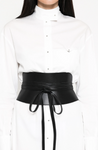 corset belt by pritch black