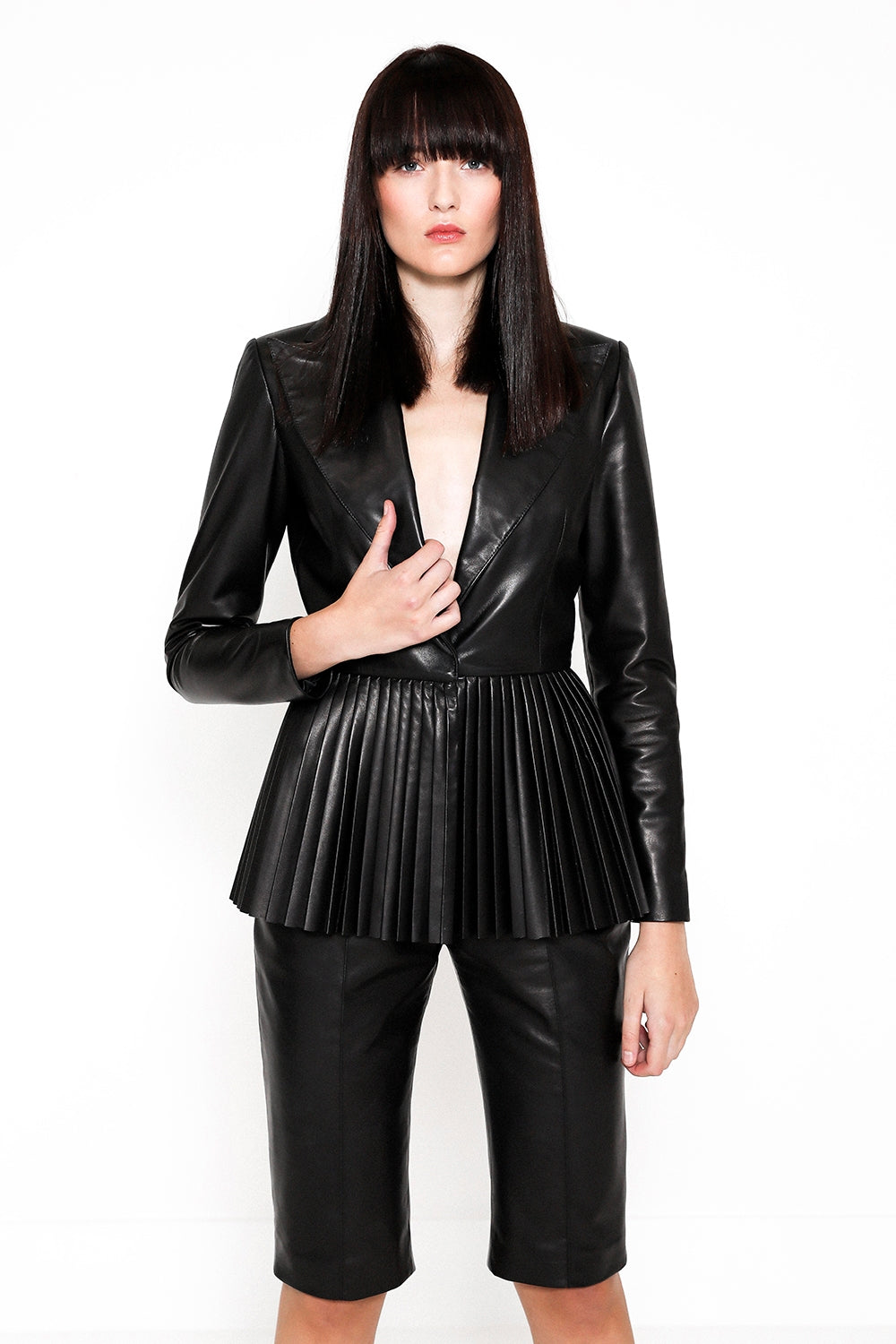 THEIA JACKET - BLACK