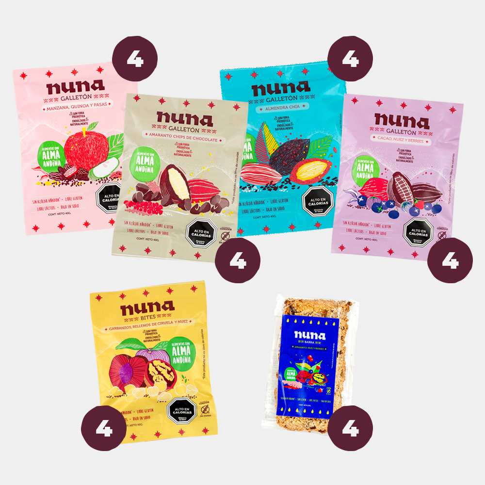 Pack Snack Surtido / 24 Unidades