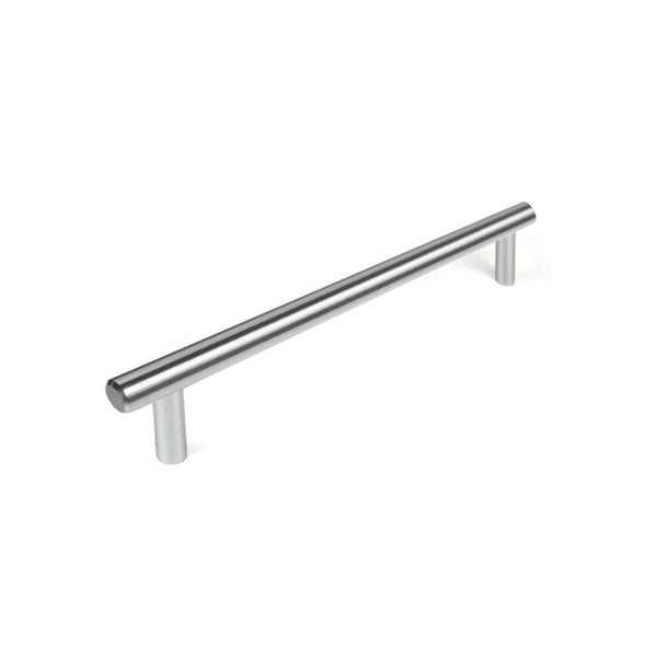 Steel Brushed Slimline 01 | 392mm Length