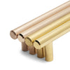 Brass Satin Slimline 02 | 700mm Length