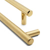 Brass Polished Slimline 02 | 700mm Length
