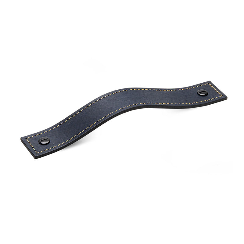 Leather 01 Handles | Contrast Stitch | Midnight