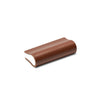 Leather Bound Pull 04 | British Tan | White Core | 52mm Length