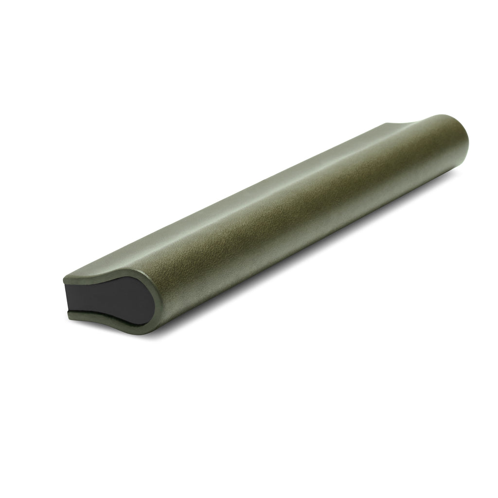 Leather Bound Pull 03 | Olive | Black Core | 148mm Length