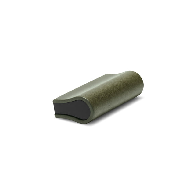 Leather Bound Pull 04 | Olive | Black Core | 52mm Length