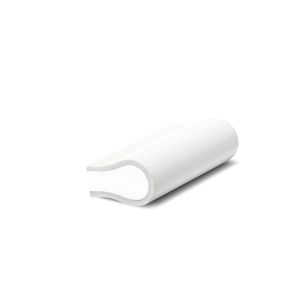 Leather Bound Pull 04 | White | White Core | 52mm Length