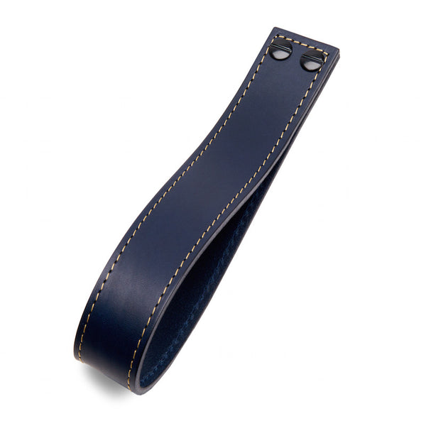 Leather Loop | Contrast Stitch | Midnight