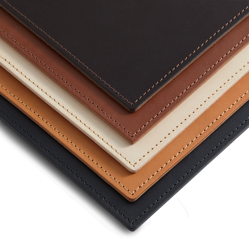 Leather Rectangle Mat | Small | Colour Options 6-10