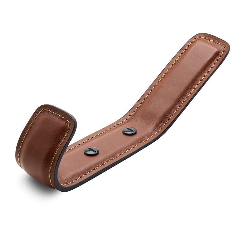 Leather Full Coat Hook | British Tan