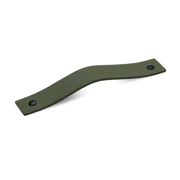 Leather 01 Handles | Olive